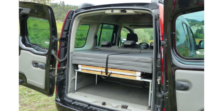Find out the campervan side of your car!